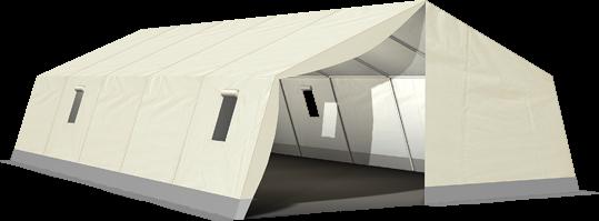 MUZ 280 - Natur Mannschafts- und Unterkunftszelt