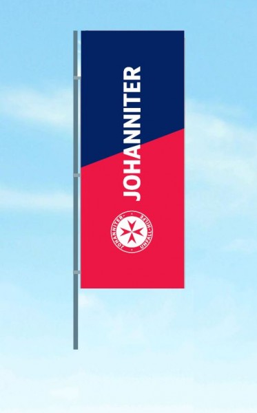 Hissflagge JUH ohne Ausleger