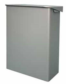 Abfallbox aus Aluminium, 6 ltr. 215x300x155 mm (BxHxT)