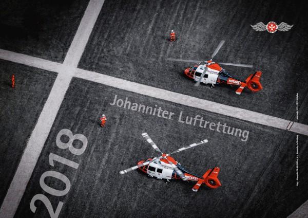 Johanniter-Luftrettung Kalender 2018