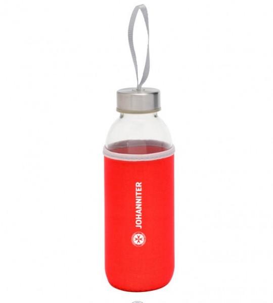 Glas-Flasche Johanniter (5 Stück)