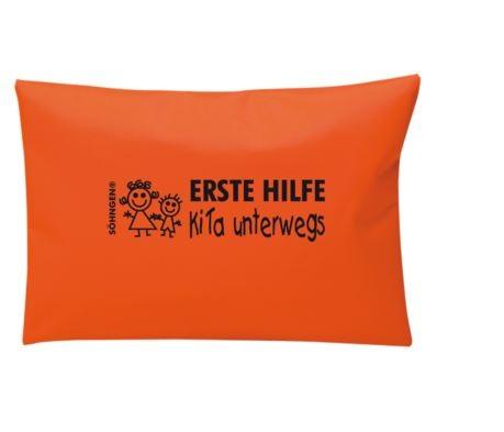 """Erste-Hilfe-Tasche """"KiTa unterwegs"""", orange"""